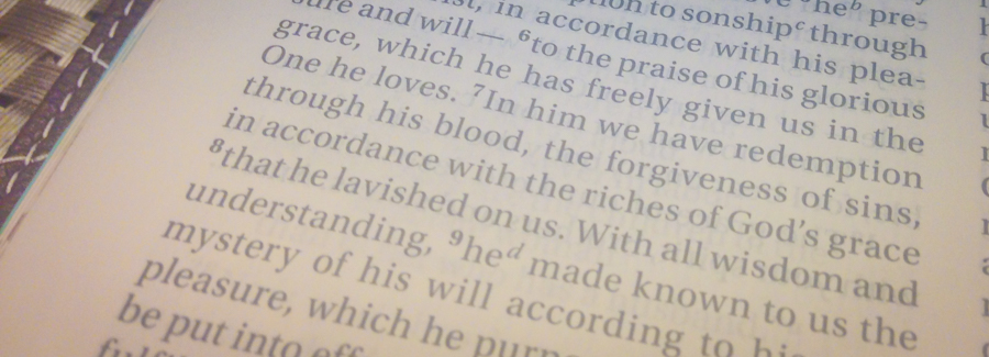 Redemption Through His Blood—Ephesians 1:7-8