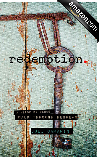 Introducing Juli's NEW book; Redemption