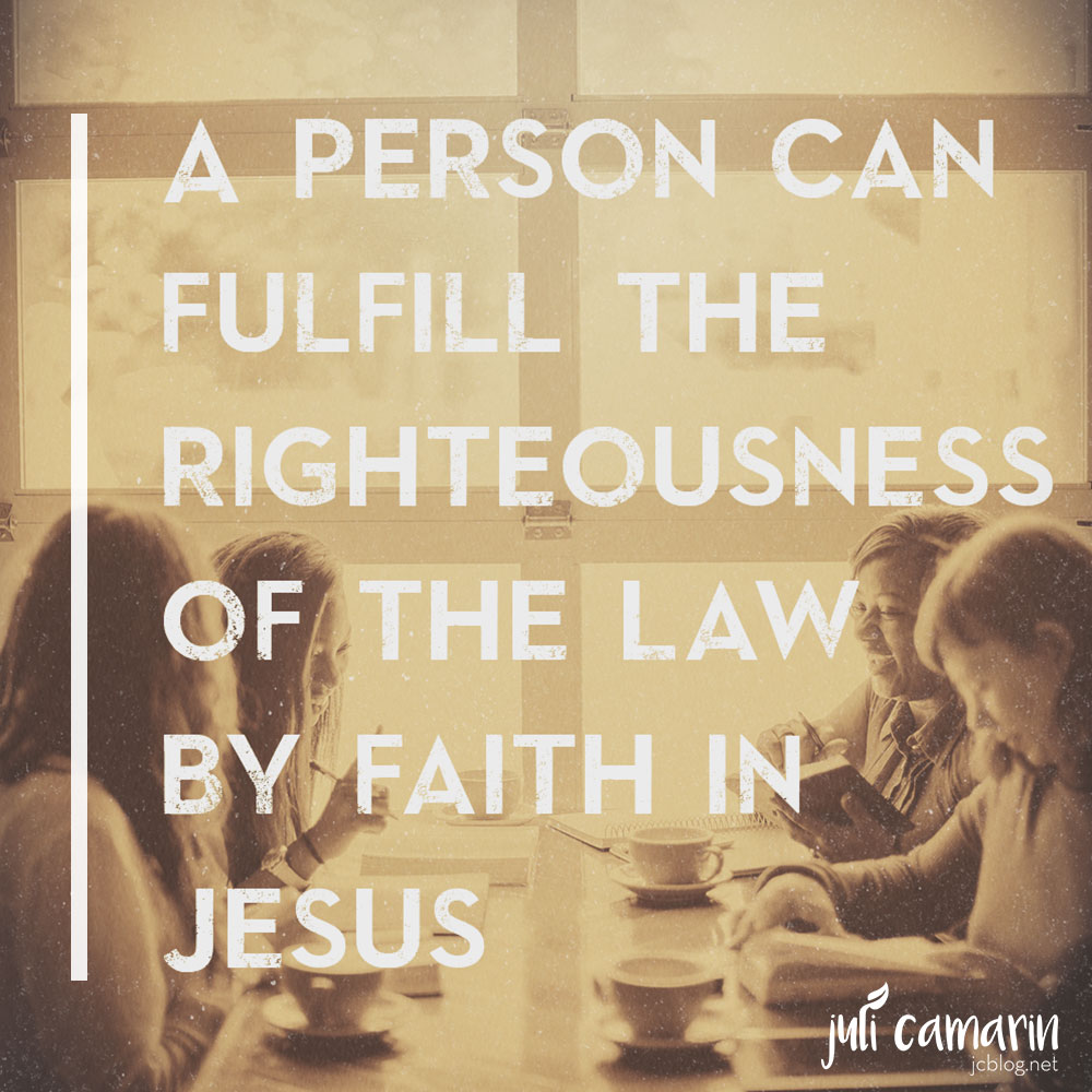 Righteousness of the Law vs. the Letter of the Law—Romans 2:26-27