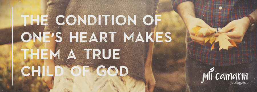 Circumcision of the Heart, The True Mark of A Child of God—Romans 2:28-29