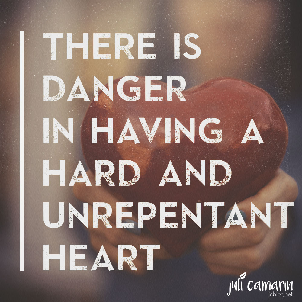 Hard and Unrepentant Heart—Romans 2:5