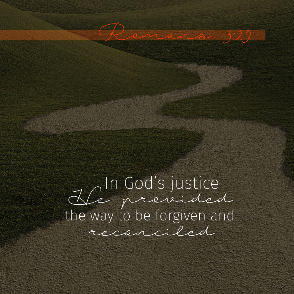 A Demonstration of Justice—Romans 3:25