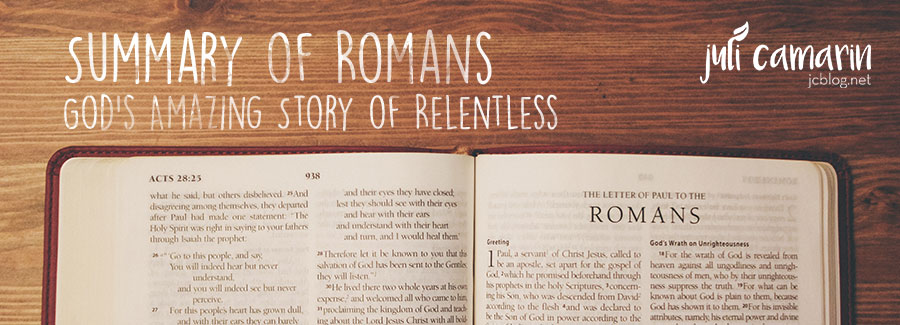 Summary of the Book of Romans