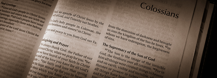 Summary of the Book of Colossians
